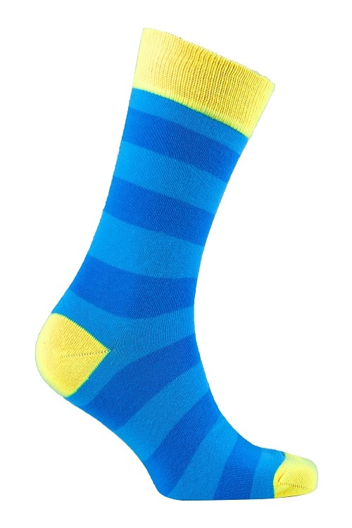 Men's Striped Crew Socks #1192