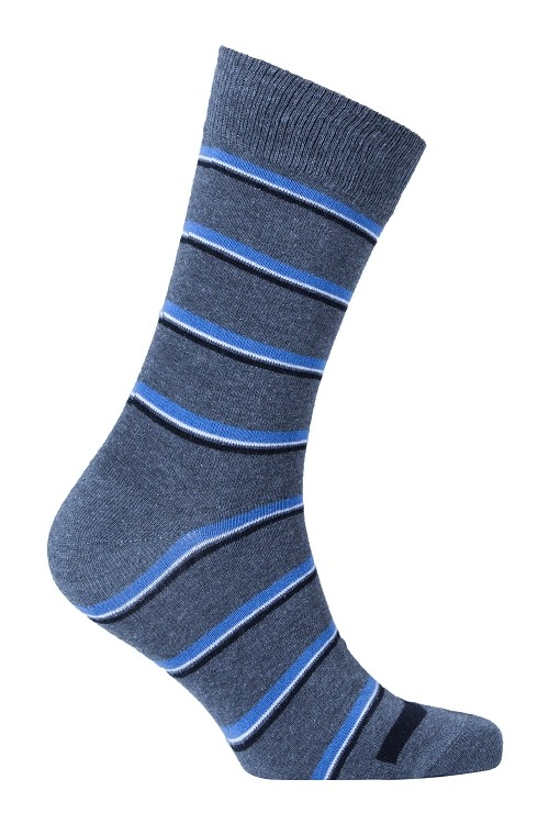 Men's Striped Crew Socks #1212
