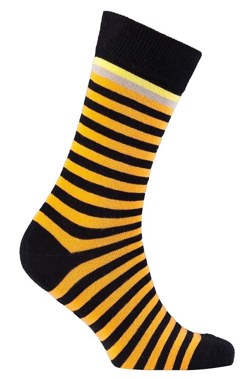 Men's Striped Crew Socks #1251