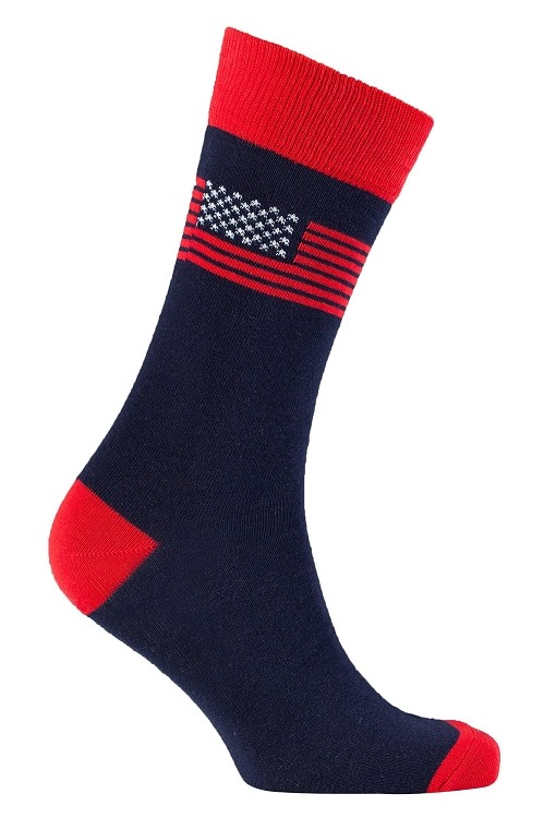 Men's USA Crew Socks #1139