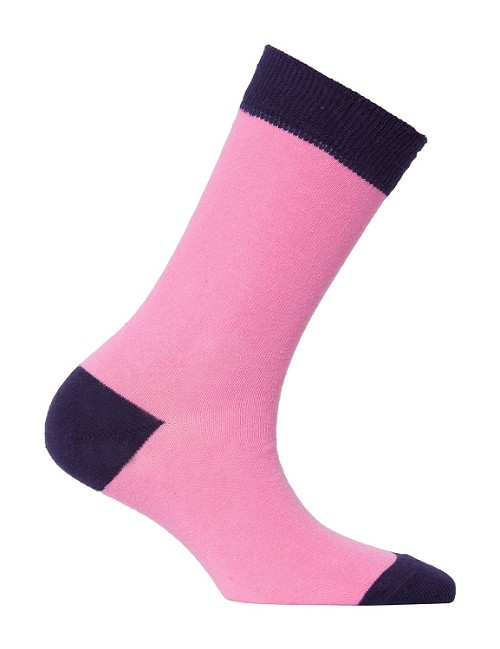 Women's Solid Crew Socks #4095