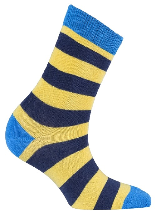 Women's Stripe Crew Socks #4076