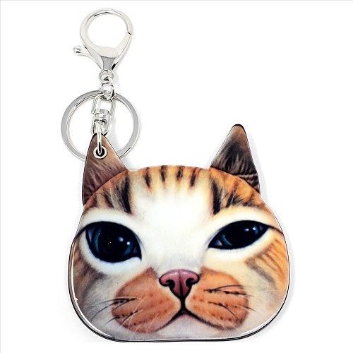 Cute Cat Keychain / Mirror