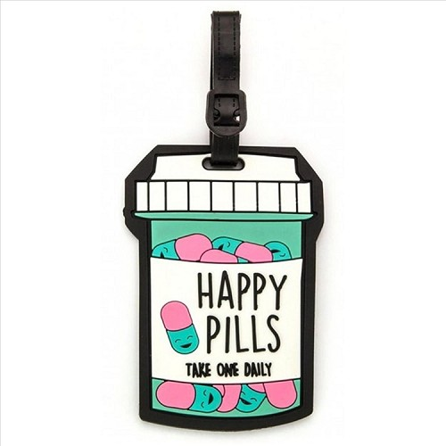 Happy Pills Luggage Tag