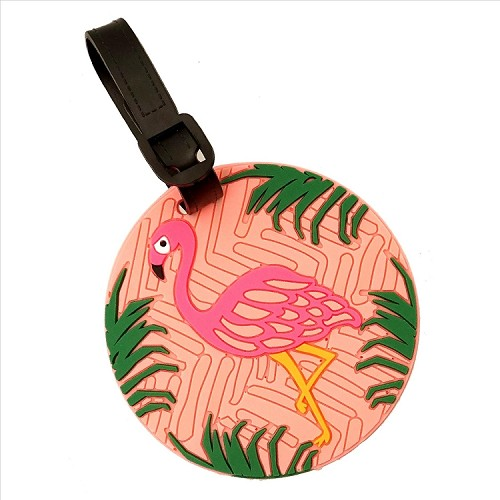 Flamingo Luggage Tag