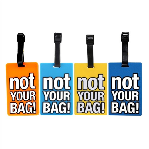 Not Your Bag Assorted Luggage Tags